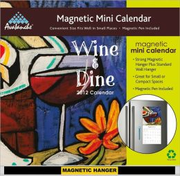 2012 Wine Magnetic Mini Calendar