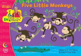 Five Little Monkeys - Dr. Jean Lap Book