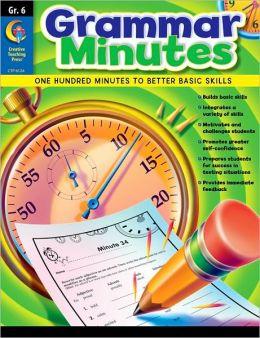 Grammar Minutes Gr. 6