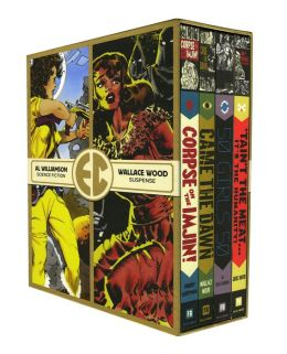 The EC Comics Library Slipcase, Volume 1