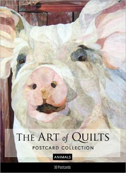The Art of Quilts Postcard Collection--Animals
