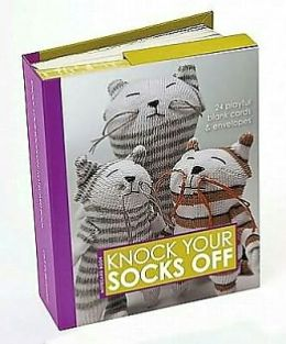 Knock Your Socks Off Notecard Book: 24 Playful blank cards & envelopes