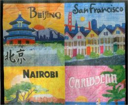 Quilt Blocks Around the World: Eco Wheelie Tote