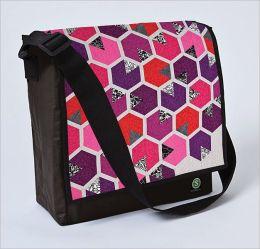 Honey Quilt-Eco Messenger Bag