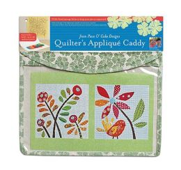 Quilter's Appliqué Caddy: 3 Felt-Lined Storage Folios Keep Your Fabric Pieces in Place
