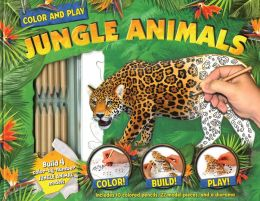 Color and Play: Jungle Animals