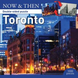 Toronto: Now & Then Double-Sided Puzzle
