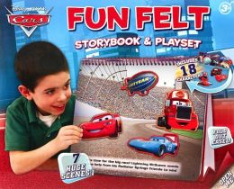 Disney/Pixar Cars: Fun Felt Storybook and Playset