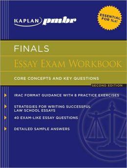 Kaplan PMBR FINALS: Essay Exam Workbook: Core Concepts and Key Questions