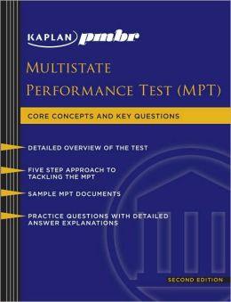 Kaplan PMBR: Multistate Performance Test (MPT)