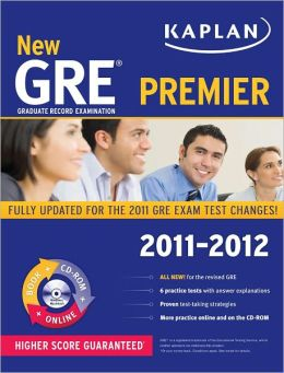 New GRE 2011-2012 Premier with CD-ROM