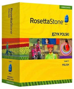Rosetta Stone Homeschool Version 3 Polish Level 1: with Audio Companion, Parent Administrative Tools & Headset with Microphone