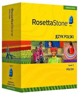 Rosetta Stone Homeschool Version 3 Polish Level 3: with Audio Companion, Parent Administrative Tools & Headset with Microphone