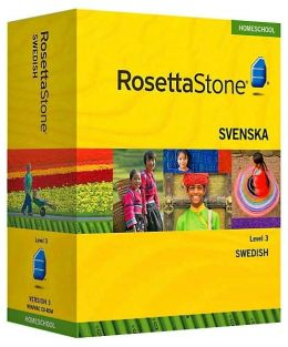 Rosetta Stone Homeschool Version 3 Swedish Level 3: with Audio Companion, Parent Administrative Tools & Headset with Microphone