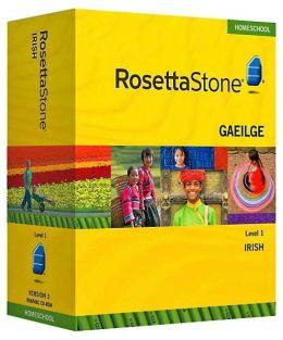Rosetta Stone Homeschool Version 3 Irish Level 1: with Audio Companion, Parent Administrative Tools & Headset with Microphone