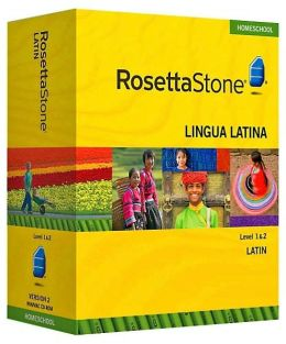 Rosetta Stone Homeschool Version 3 Latin Level 1 & 2 Set: with Audio Companion, Parent Administrative Tools & Headset with Microphone