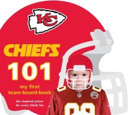 Kansas City Chiefs 101: My First Team-board-book