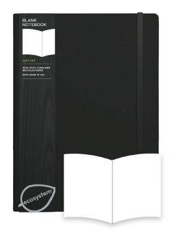 Ecosystem 100% Recycled Flexi Blank Onyx Journal (7.3''x9.8'')