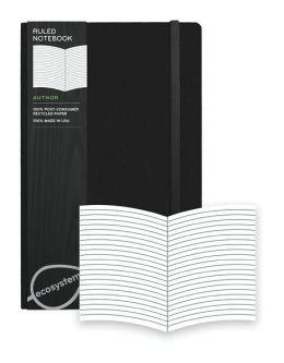 Ecosystem 100% Recycled Flexi Ruled Onyx Journal (5.25''x8.25'')