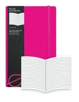 Ecosystem 100% Recycled Hard Ruled Watermelon Journal (5.25''x 8.25'')