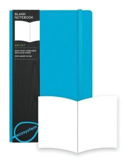 Ecosystem 100% Recycled Flexi Blank Lagoon Journal (5.25''x8.25'')