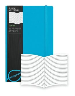 Ecosystem 100% Recycled Flexi Ruled Lagoon Journal (5.25''x8.25'')