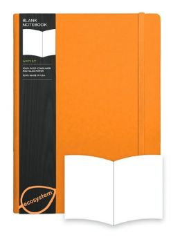 ecosystem Journal Blank: Large Clementine Flexicover