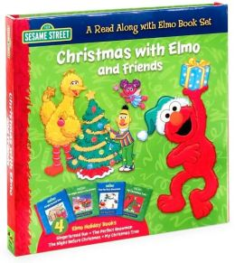 Christmas with Elmo and Friends: A Read Along with Elmo Book Set