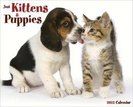 2012 Kittens & Puppies Wall Calendar