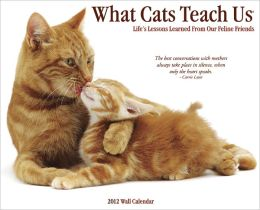 2012 What Cats Teach Us Wall Calendar