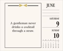 2012 How To Be A Gentleman Box Calendar