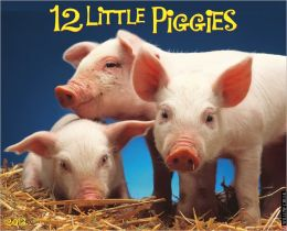 2013 12 Little Piggies Wall Calendar