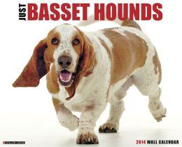 2014 Basset Hounds Wall Calendar