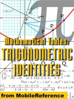 Mathematical Tables: Trigonometric Identities