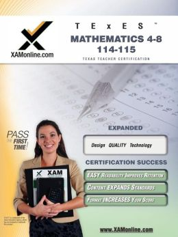TExES Mathematics 4-8 115