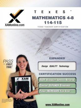 TExES Mathematics 4-8 115