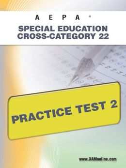 AEPA Special Education: Cross-Category 22 Practice Test 2