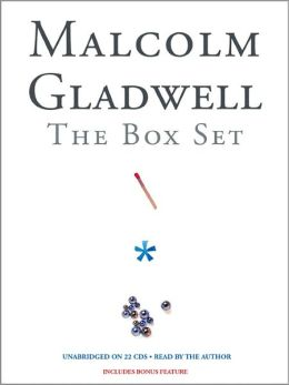 Malcolm Gladwell Box Set: The Tipping Point, Blink & Outliers