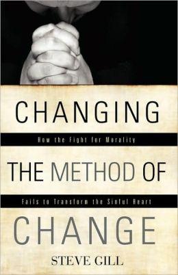 Changing The Method Of Change