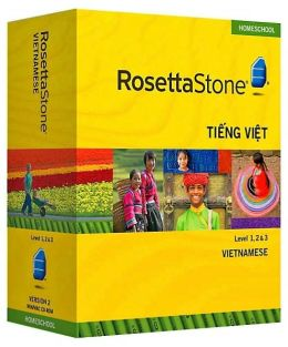 Rosetta Stone Homeschool Version 3 Vietnamese Level 1, 2 & 3 Set: with Audio Companion, Parent Administrative Tools & Headset with Microphone