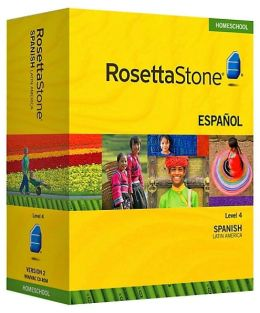 Rosetta Stone Homeschool Version 3 Spanish (Latin America) Level 4: With Audio Companion, Parent Administrative Tools and Headset with Microphone