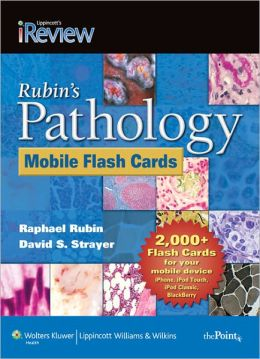 Rubin's Pathology Mobile Flash Cards