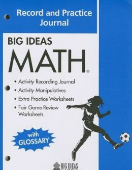 Big Ideas Math (Blue) Record and Practice Journal