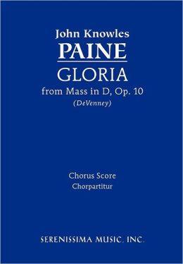 Gloria (from Mass, Op. 10): Chorus Score