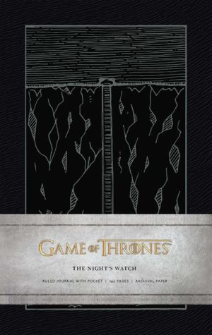 Game of Thrones: Night's Watch Hardcover Ruled Journal