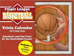 2012 Basketball Finger Sports Daily Desk Calendar