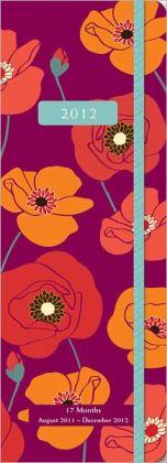 2012 Jotter PlannerBold Blossoms Engmt Calendar