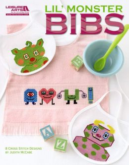 Lil' Monster Bibs (Leisure Arts #5277)