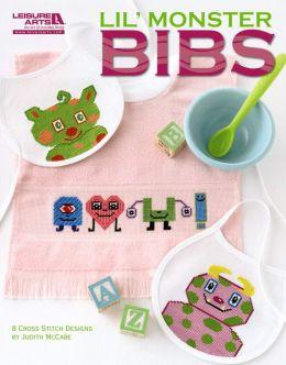 Lil' Monster Bibs (Leisure Arts #5277)