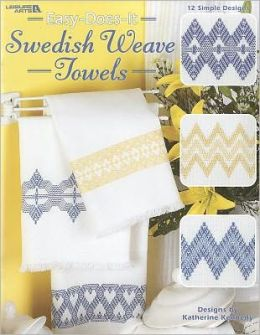 Easy-Does-It Sweedish Weave Towels (Leisure Arts #3700)